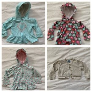 Other - Bundle / lot of 4 sweatshirts / sweater - 18 mo